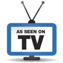 As, On, Seen, Tv icon