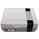 nintendo, gray icon