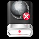 offline, drive icon