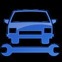 Car Repair Blue 2 icon