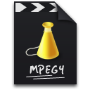 video, mpg, mpeg icon