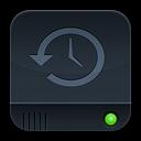 disk, time, disc, history, machine, dark, save icon