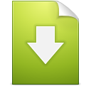 Document download icon