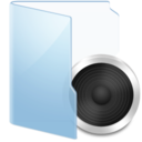 audio,blue icon