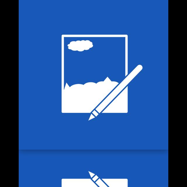 paint, net, mirror icon
