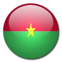 flag, faso, country, burkina icon