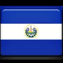 el, salvador, flag icon