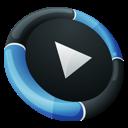 Dock, Inverse, Mediaplayer icon