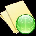 Documents, Web, Yellow icon