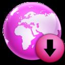 download,descending,fall icon