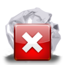 letter, message, email, envelop, junk, mark, mail icon