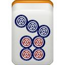 mahjong, pin icon