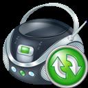 Boombox, Refresh icon
