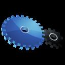 settings, control, gears, dock icon