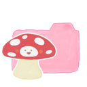 candy, folder, mushroom, ak icon