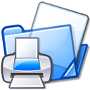 print, documents, folder icon