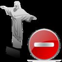 cristoredentor,delete,del icon
