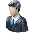 man, business man, people, user, profile, account, male, person, human, member icon