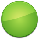 Blank Badge Green icon