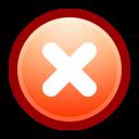 no, cancel, stop, close icon