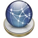 network,graphite icon