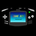 Advance, Black, Gameboy, icon
