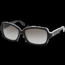 black, glasses, chanel icon