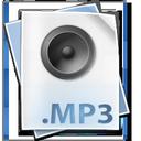 audio, mp3, file icon