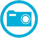 mb, camera icon