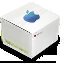 Apple, Box, Clean icon