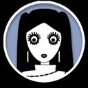 girl, dark, account, people, human, kid, user, person, child, profile icon
