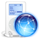 ipod, mp3 player, web icon