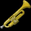 trumpet, instrument icon