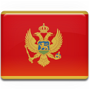 flag, montenegro, country icon