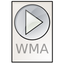 wma, ms, audio icon