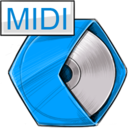 midi,audio icon