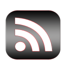 The rounded RSS feeds icon