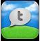 social, sn, twitter, twitterfon, social network icon
