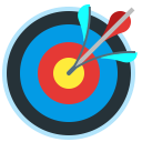 target, advantage, targeting, accuracy, arrow icon