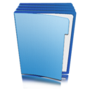 folder,library icon