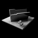 folder,empty,addblocked icon