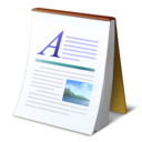 document, text, abiword icon