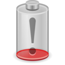 battery empty icon