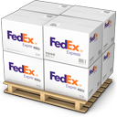 shipment, warehouse, goods, fedex, shipping, palet, boxes, products icon