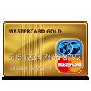 mastercard, gold icon