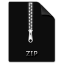 zip, file icon