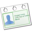 vcard, contact icon