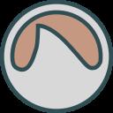 brand, social, logo, grooveshark, network icon