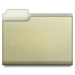 leather, folder, white icon