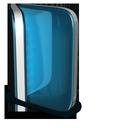 live, folder, back icon